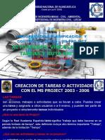 Tema 08 PLANIFICACION - ACTIVIDADES, VINCULACION DE TAREAS Y RUTA CRITICA 2020