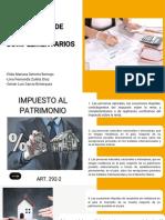 IMPUESTO DE RENTA Y COMPLEMENTARIOS