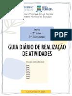 GUIA DIÁRIO ARTE 2 ANO - 3BIM