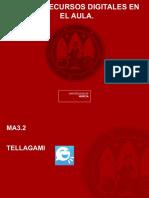 Tellegami, aplicación