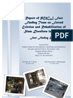 Final-Report of PUCL FF team on Slum Eviction n R&R-13th Jan 2011
