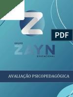 04 AVALIAÇÃO PSICOPEDAGÓGICA