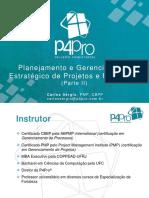 Planejamento e Gerenciamento Estratgico de Projetos e Processos - Parte II