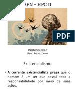 Existencialismo HPC II SPN