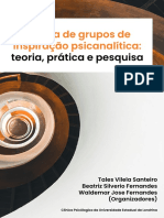 Clinica de grupos de inspiracao psicanalitica - teoria pratica e pesquisa