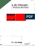 Teoria do vínculo - Enrique Pichon-Rivière
