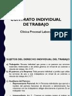 Elementos del contrato individual de trabajo