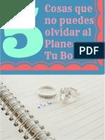 Quiero planear mi boda funciona