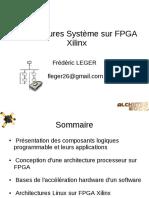 Architectures Système sur FPGA Xilinx