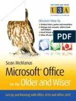 Microsoft Office for the Older and Wiser SAMPLE