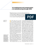 China's employment and compensation
