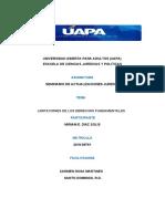 TAREA 8 SEMINARIO DE ACTUALIZACIONES JURIDICAS MIRIAM DIAZ