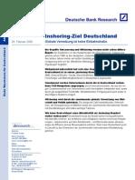 dbresearch Inshoring-Ziel Dt. 060228