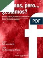 Estamos, Pero… Raúl Abreu Martín-2019