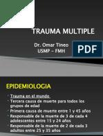 Trauma Multiple clase USMP