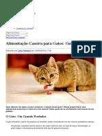 Alimentação Caseira para Gatos_ Guia Básico