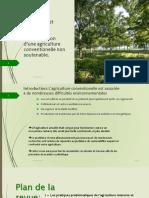 Techniques et stratégies permettant l'émancipation du système agraire intensif