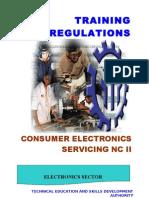 TR - Consumer Electronics Servicing NC II