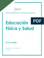 educacion fisica 3 y 4 medio