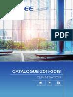Catalogue Gree 2017 2018