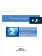 Windows Powershell Tutorial (PDF)
