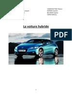 dossier voiture hybride