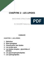 2. LIPIDES biochimie structurale-1