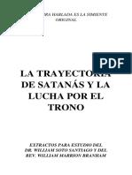 LA TRAYECTORIA DE SATANAS Y LA LUCHA POR EL TRONO -WORD-