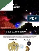NOÇÕES DE ASTRONOMIA