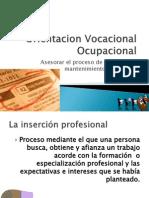 Orientacion Vocacional Ocupacional Busqueda y Mantenimiento II Ciclo 2010