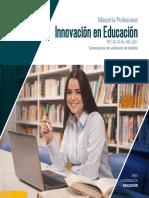 Prospecto Maestria Innovacion Educacion 2021