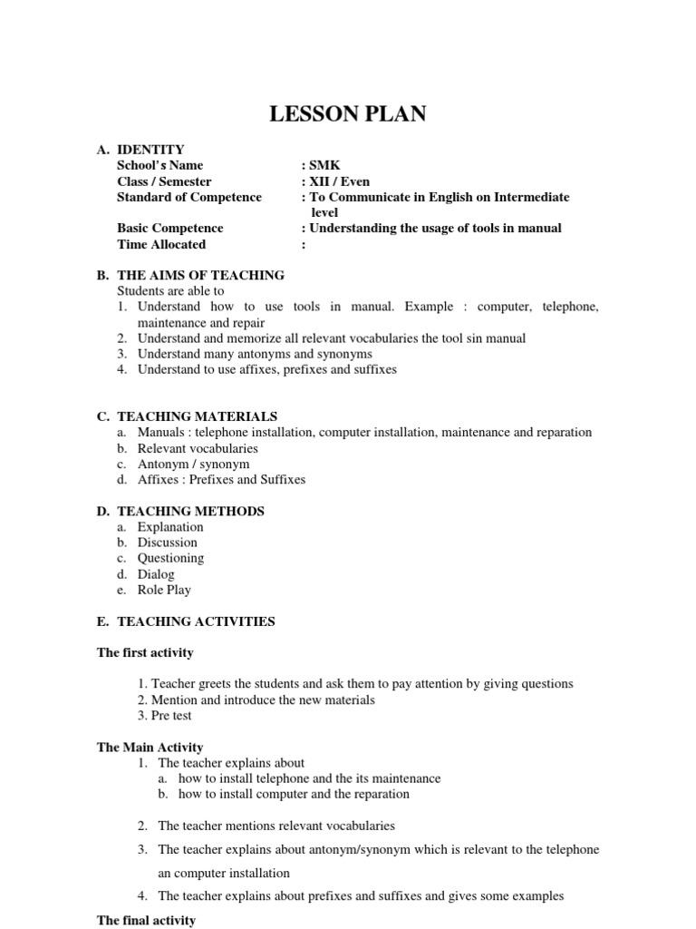 Rpp Bahasa Inggris Kelas Xii Sem Genap Computer Data Storage