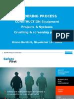 Tendering process presentation