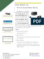 Wireless Keyboard Mouse Sharing