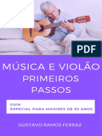 Música e Violão primeiros passos - Especial 50- (ebook)