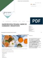 Hamburguesa Vegana_ Carne de Garbanzo _ IbizaFoodie