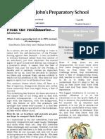 Prep Newsletter No 4 2011