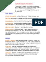 BASICS OF PETROLEUM PHYSICAL PROPERTIES
