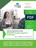 Terapia Team Cognitivo Conductual Digital