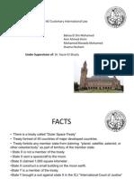 Customary International Law Final