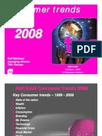 TNS Consumer Trends 2008