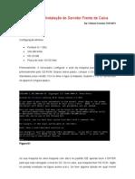 Manual de Instalação do Servidor Frente de Caixa