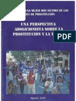 Ni una mujer más víctima de las redes de prostitución -  Una perspectiva abolicionista sobre la prostitución y la trata