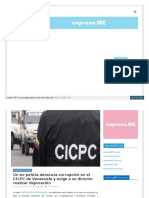 Expresa Me 2019-07-23 Un Ex Policia Denuncia Corrupcion en e