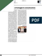 A Pesaro si festeggia la comunicazione - Il Resto del Carlino del 16 settembre 2021