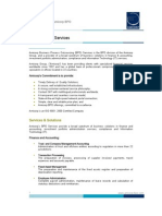 Amicorp BPO Services - white paper March 2009