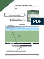 Fiches Methode-Prise en Main de Google Sketchup Les Outils Pour Le Devoir