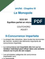 MICRO 2 Chapitre IX - Le Monopole_0