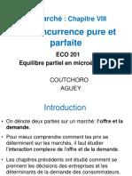 MICRO 2 Chapitre VIII - La Concurrence Pure Et Parfaite_0