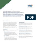 BT MPLS Datasheet